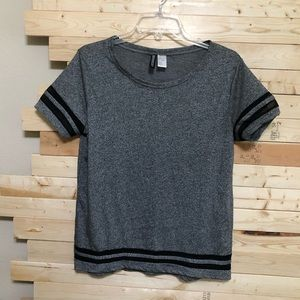 NWOT DEVIDED by H&M Grey Shirt size S
